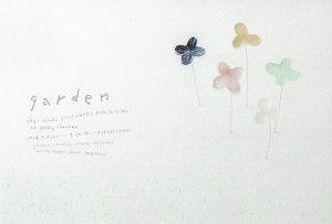 2018.9.8(土)〜9.20(木)八木麻子 ガラス展 ー garden ー