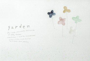 2018.9.8(土)〜9.20(木)<br>八木麻子 ガラス展 ー garden ー