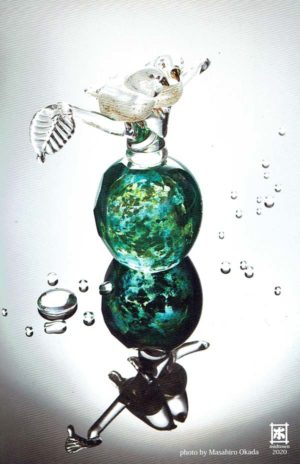 2020.6.24(水)〜7.21(火) FUSION FACTORY 原加奈子 ガラス展 ー 雨のあと ー